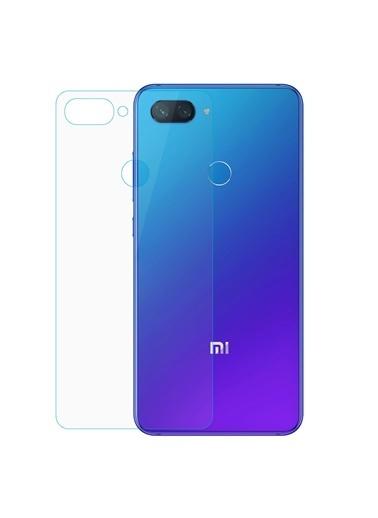 Microsonic Xiaomi Mi 8 Lite Arka Nano Cam Ekran Koruyucu Renksiz